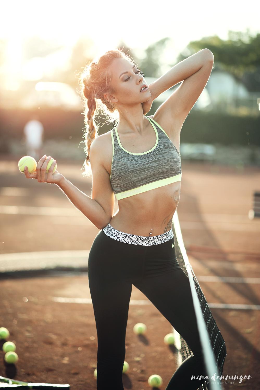 Sport Fashion Shooting Tennis