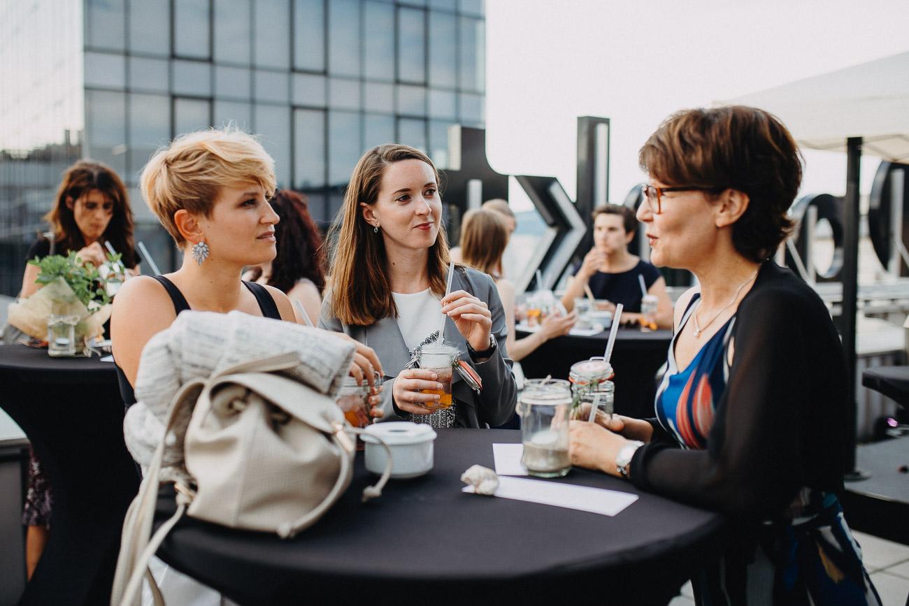 Eventfotografie epunkt Büroeröffnungsfeier Linz Nina Danninger Photography