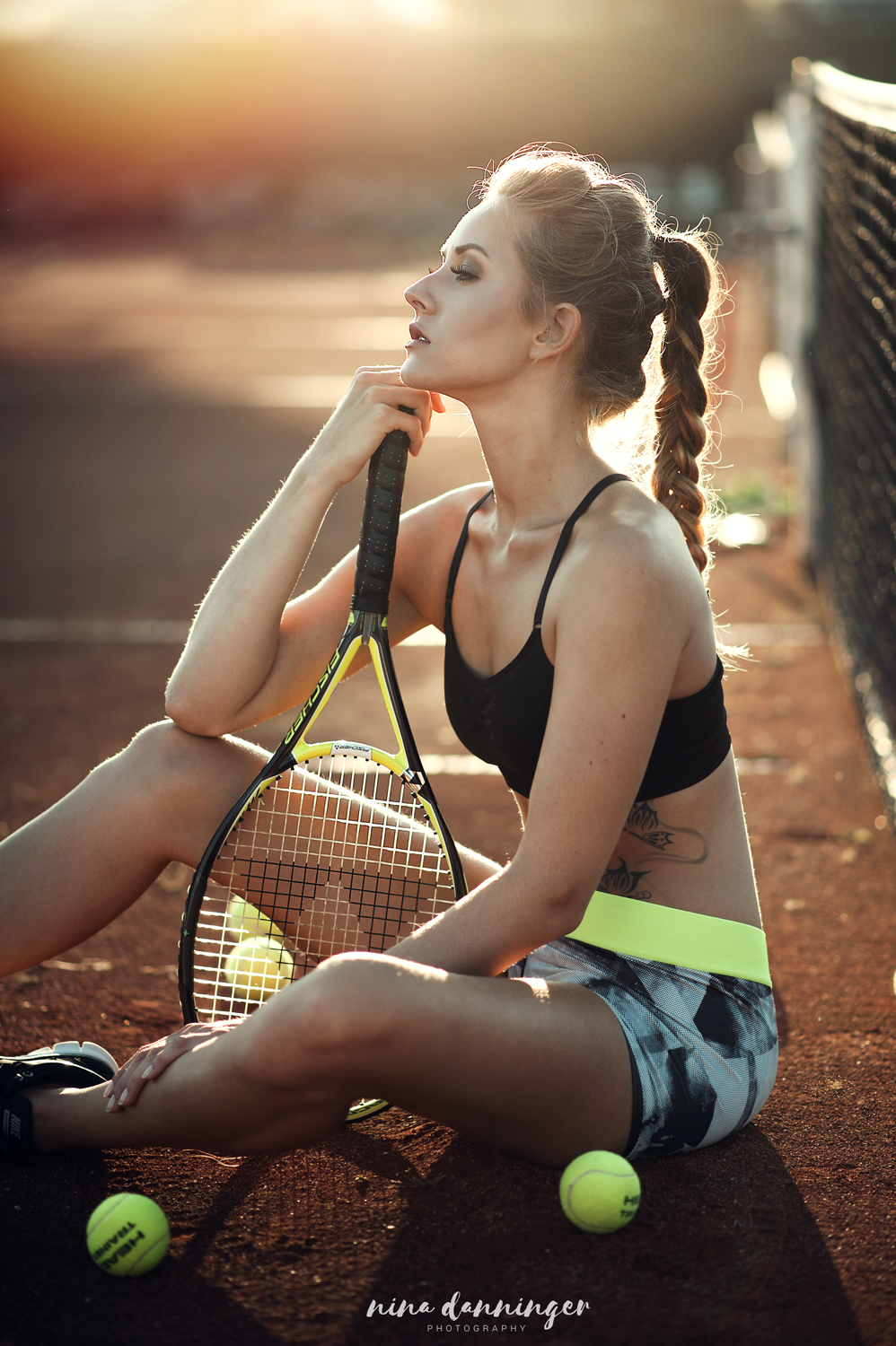 Sport Fashion Shooting Tennis