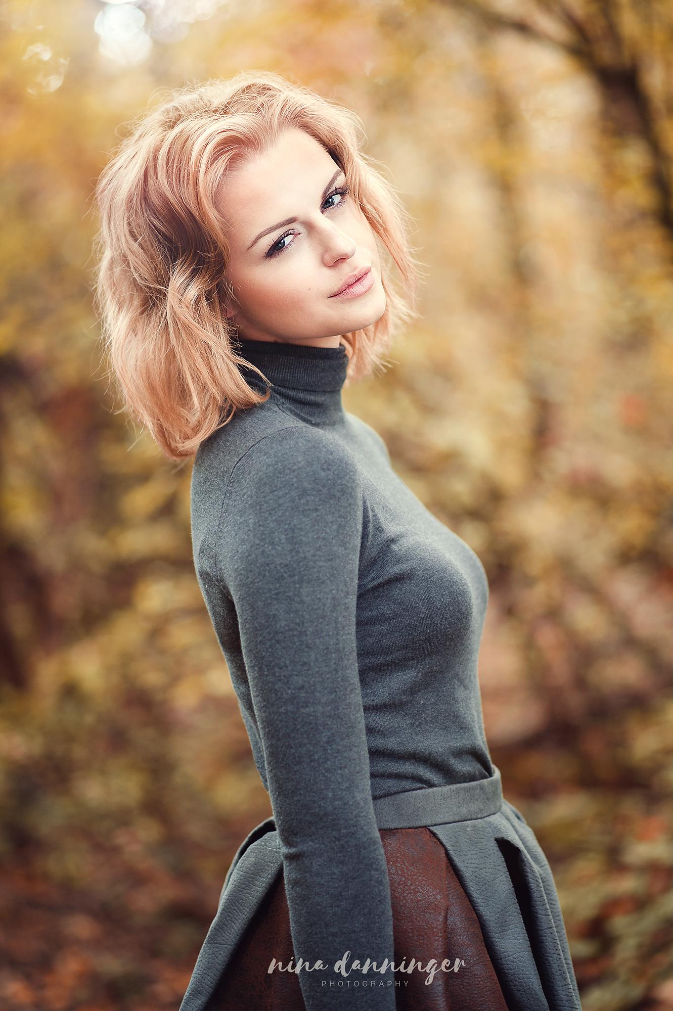 Herbst Outdoor Portrait Nina Danninger Photography - Linzer Berufsfotograf