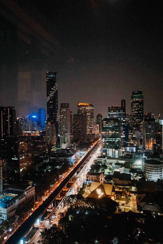 Skybar in Bangkok Thailand / Nina Danninger Photography